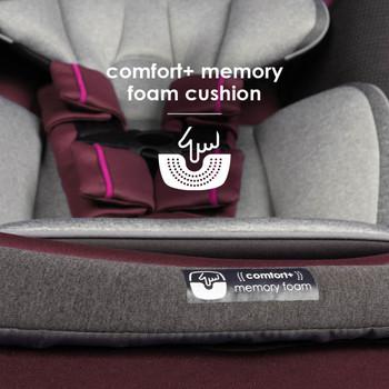 Comfort+ memory foam cushion [Purple Plum]