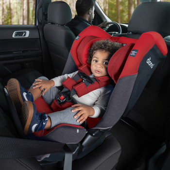 Rear-facing for longer up to 22.7 kg