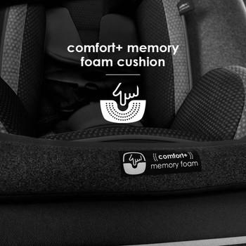 Comfort+ memory foam cushion [Black Jet]
