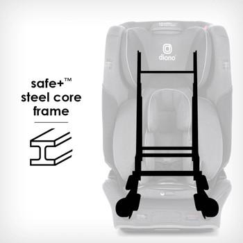Safe+® Steel core frame [Gray Slate]