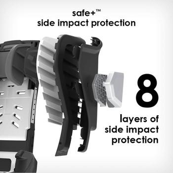 8 layers side impact protection [Gray Slate]