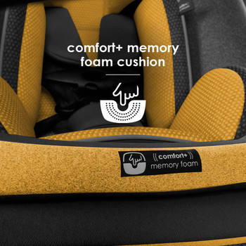 Comfort+ memory foam cushion  [Yellow Mineral]