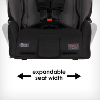 Expandable seat width [Gray Slate]