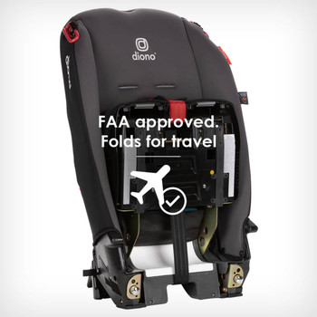 FAA approved folds for travel [Gray Slate]