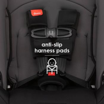 Anti-slip harness pads [Gray Slate]
