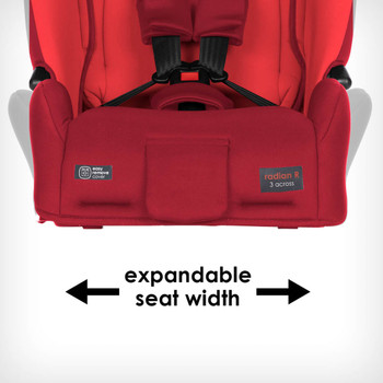Expandable seat width [Red Cherry]