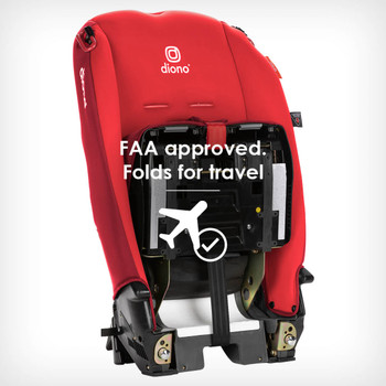 FAA approved folds for travel [Red Cherry]