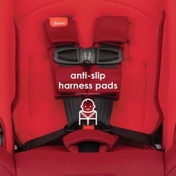 Anti-slip harness pads [Red Cherry]