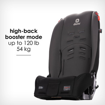 New high back booster mode up to 54 kg / 120 lb [Gray Slate]