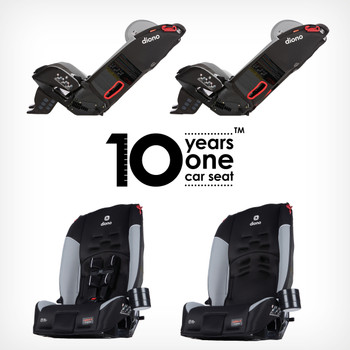 10 years one car seat