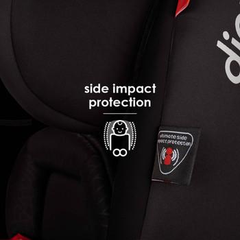 Side impact protection [Black Jet]