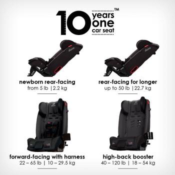 10 years one car seat [Gray Slate]
