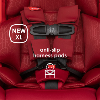 New XL anti-slip harness pads [Red Cherry]