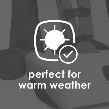 Diono Car Seat Summer Cover - Perfect for warm weather [White]