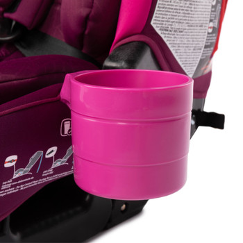 Diono Car Seat cup Holders attached to car seat [Purple Plum]