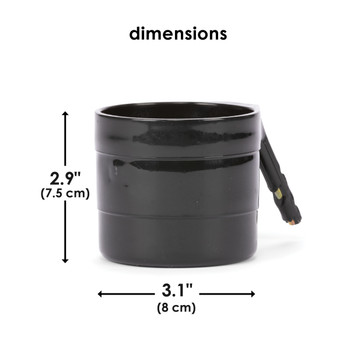 Diono Car Seat Cup Holders - Dimensions [Black]