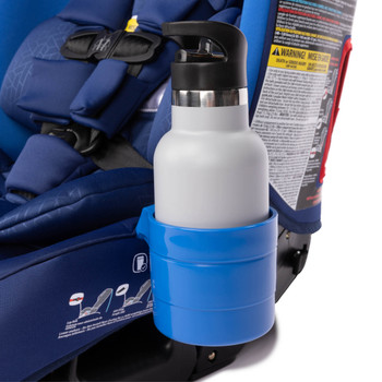 Diono Car Seat Cup Holders in use with with bottle [Blue Sky]
