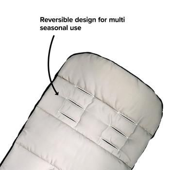Features reversible design for multi-seasonal use  [Yellow Sulphur]