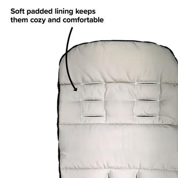 Soft padding keeps them cozy and comfortable [Yellow Sulphur]