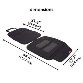 Diono Seat Guard Complete  - Dimensions [Black]