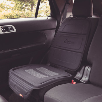 Diono Seat Guard Complete - Installed in the back seat of a car  [Black]