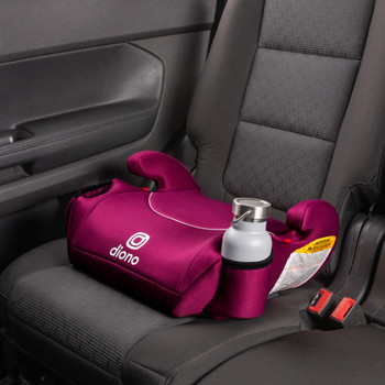 Two integrated cup holders [Pink]