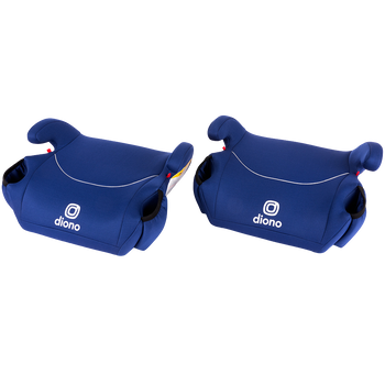Solana® - 2 Pack of Belt Positing Booster Car Seats [Blue]
