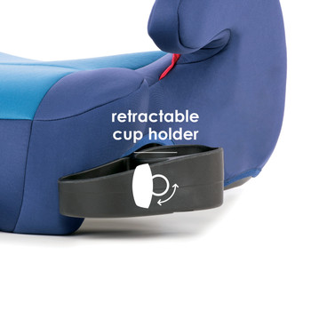 Retractable cup holder [Blue]