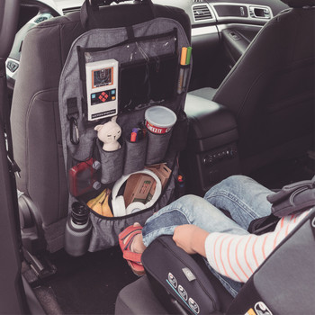 Diono Stow 'n Go XL Car Back Seat Organiser for Kids [Gray]