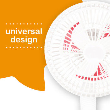 Diono Stroller Fans, Pack of 2 Clip On Baby Safe Stroller Fans Universal Design [White]