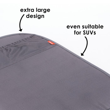 Diono Stuff 'n Scuff XL Kick Mat extra large design suitable for SUVs [Gray]