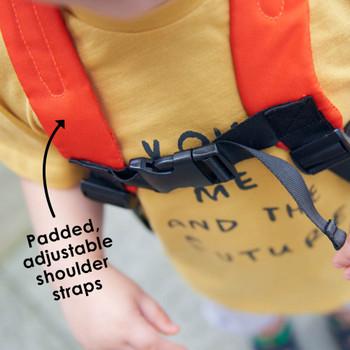 Padded adjustable shoulder straps [Fox]