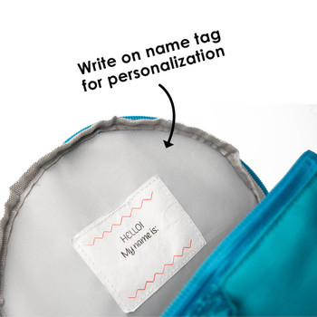 Write on name tag inside for personalisation  [Owl]