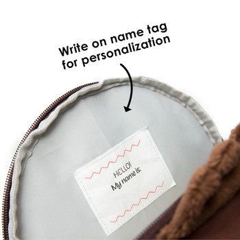 Write on name tag inside for personalisation [Bear]