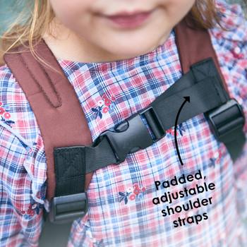 Padded adjustable shoulder straps [Bear]