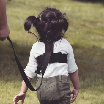 Diono Sure Steps has a comfortable security harness allows toddler to freely explore while remaining close by  [Black]