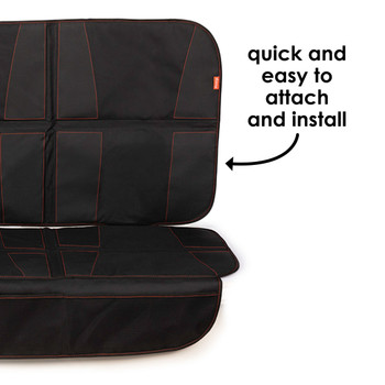 Diono Ultra Mat XXXL - Quick and easy to attach and  install  [Black]