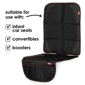 Diono Ultra Mat® - compatible with: infant car seats, convertibles and boosters [Black]