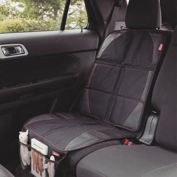 Diono Ultra Mat® - Installed in the back seat of a car [Black]