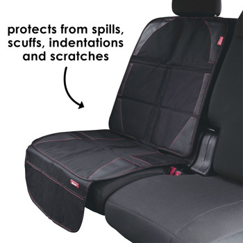 Diono Ultra Mat® - Protects from spills, scuffs, indentations and scratches[Black]