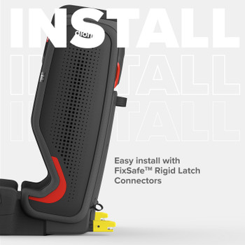 Easy install with FixSafe rigid latch connectors [Gray Slate]