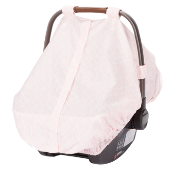 Infant Car Seat Cover [Pink]