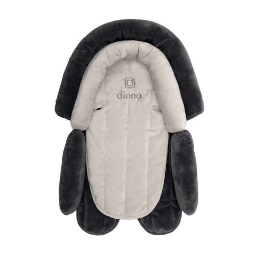 Diono Cuddle Soft 2-in-1 Baby Head Neck Body Support Pillow For Newborn Baby Super Soft Car Seat Insert Cushion, Perfect for Infant Car Seats, Convertible Car Seats, Strollers
