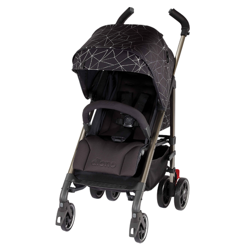 Flexa Umbrella Stroller [Black Platinum]