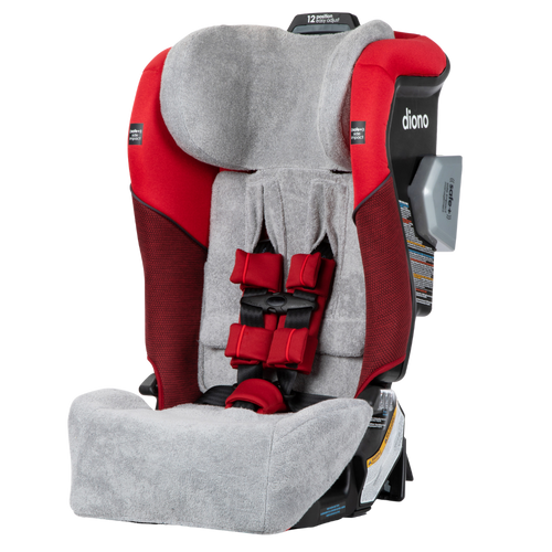 Diono Car Seat Summer Cover, Keep Your Baby's Car Seat Cool, Absorbs Excess Moisture, Compatible With Radian Q Convertible Car Seats [Gray]