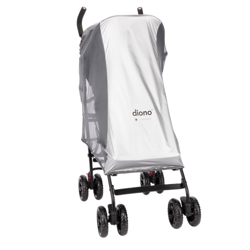Stroller Sun Shade & Mosquito Net For Stroller, Heatblock Sun Protection, Perfect Bug Net For Stroller With Universal Fit