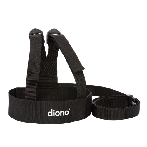 Diono Sure Steps Toddler Leash & Harness for Child Safety [Black]