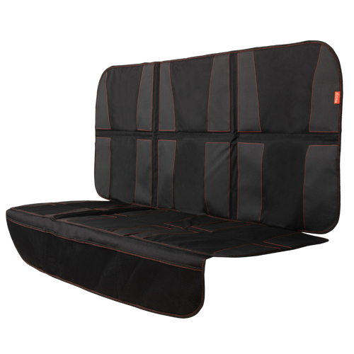 Diono Ultra Mat XXXL Extra Large Car Seat Protector For Complete Protection Against Dirt & Scratches, Crash Tested, High Strength, Water Resistant Material With Thick Padding For Durable Protection [Black]