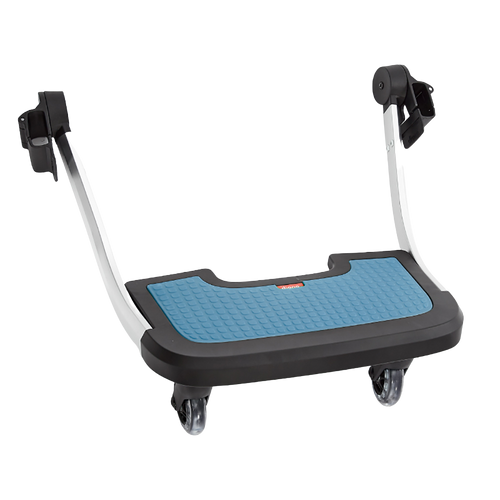 Diono Quantum Hop and Roll Board the perfect buggy board for older siblings to ride along [Blue]