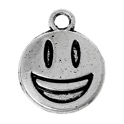 Emoji Smile Charm